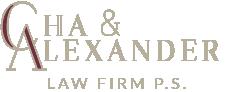 Cha & Alexander Logo